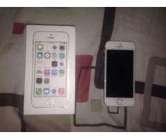 iPhone 5S en venta un solo dueño 2 meses