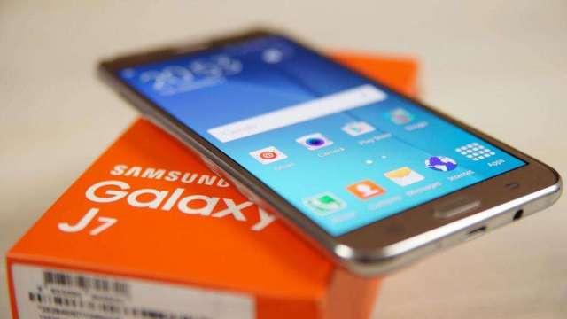 Samsung J7 Lte Duos Dorado Como Nuevo
