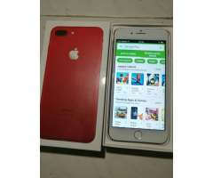 iPhone 7 Plus Rojo 19gb