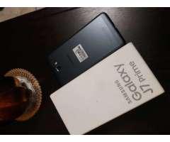 Samsung J7 Prime Nuevo Cajeta