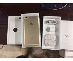 Vendo Iphone 6s Plus, Color Gold