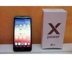 LG X Power en plan por contrato 40 dolares duración de batería 2 días