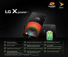 LG X Power en plan de 40 dolares gratis con doble capacidad 8GB