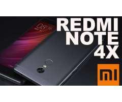 XIAOMI REDMI NOTE 4X NUEVOS de 3GB RAM 32GB ROM. WHATSAPP 67514052. NO HAGO CAMBIOS POR OTROS CELULA