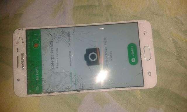 Samsung J7 Prime Detalle Anda Bien Ganga