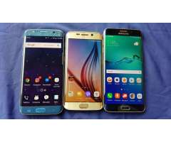 GALAXY S6, S6 EDGE PLUS, S7 EDGE, IPHONE 6 COMO NUEVOS!
