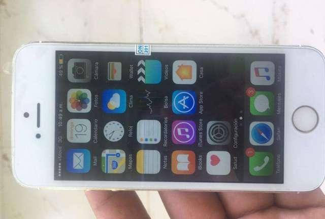 iPhone 5S 16Gb Color Dorado.