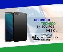 Servicio técnico especializado en reparaciones de pantalla HTC