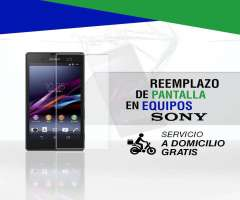 Servicio técnico especializado en reparaciones de pantalla de celulares y tablets  Sony
