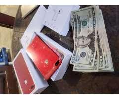 iphone 7 plus nuevo en caja 128gb rojo