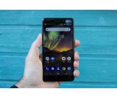 Ganga!Nokia 6.1 2018 Con 32gb y totalmente Liberado! en 165!