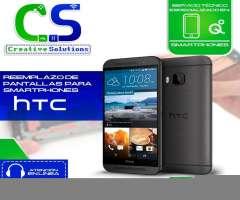 Servicio especializado en reparaciones de pantalla de celulares HTC