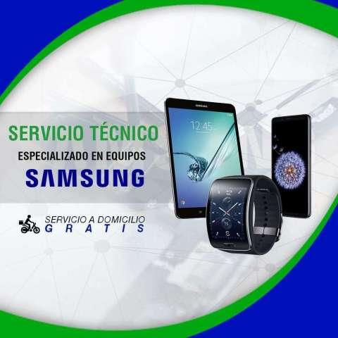 Servicio técnico especializado en reparaciones de equipos Samsung