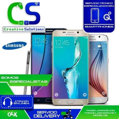 Servicio técnico especializado en reparaciones de pantalla de celulares Samsung