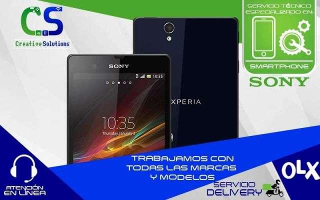 Servicio técnico especializado en reparaciones de celulares y tablets Sony