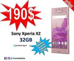 SemiNUEVO! Sony Xperia XZ 32GB LIBERADO 23MP LTE 4K Resistente Agua/Polvo Sensor de H...
