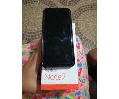 Xiaomi Redmi Note7 128gb Negociable