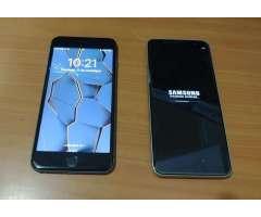iPhone 6 S Plus Y Samsung J8
