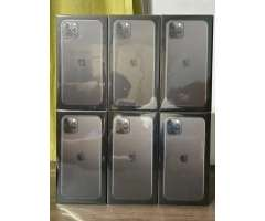IPhone 11 pro máx 64 gb negro