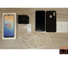 Y6 2019 y audífonos